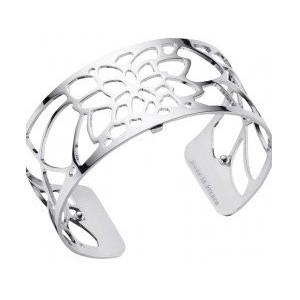 Bracelet Georgettes Nenuphar 25mm finition argenté