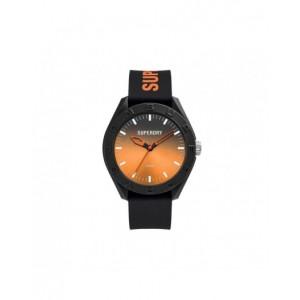 Montre Superdry mixte SYG321BO noire et orange