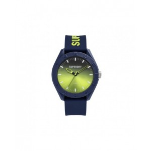 Montre Superdry mixte SYG321UN bleu et orange