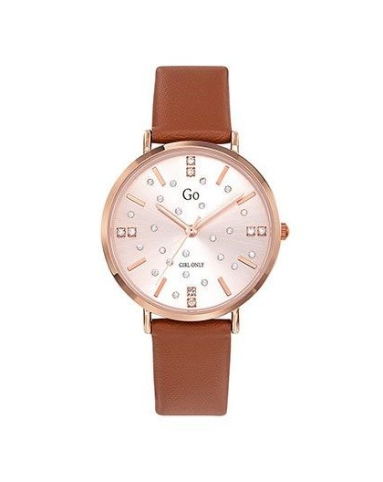 Montre GO Girl only 699283 strass cuir marron