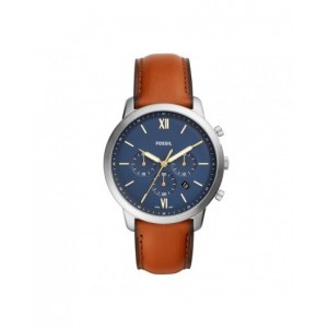 Montre Fossil homme FS5453 cuir marron
