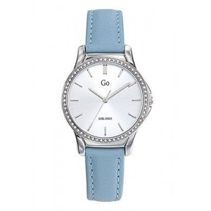 Montre GO Girl only 699338 strass cuir bleu
