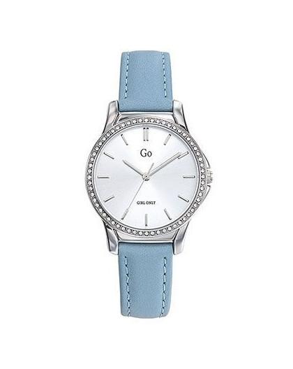 Montre GO Girl only 699338 strass cuir bleu