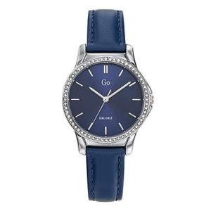 Montre GO Girl only 699339 strass cuir bleu