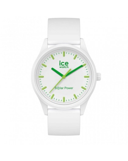 Montre Ice watch Solar 018473 white green small