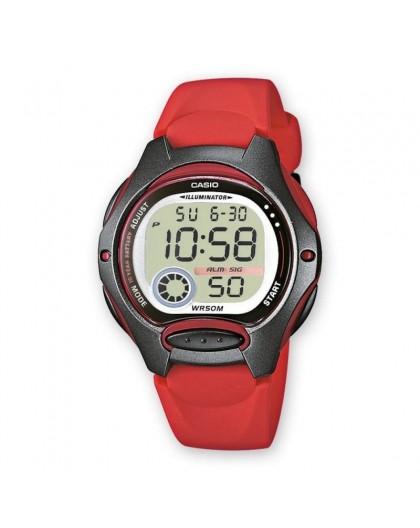 Montre Casio LW-200-4AVEF PU rouge enfant