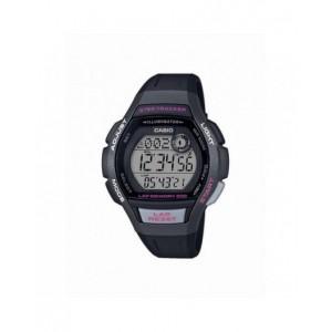 Montre Casio LWS-2000H-1AVEF PU noir femme