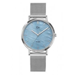 Montre GO Girl only 695333 fond bleu argenté
