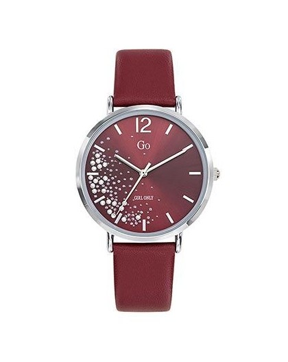 Montre Go Girl Only 699356 cuir rouge