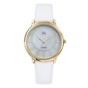 Montre GO Girl only 699323 cadran nacre cuir blanc