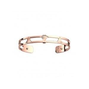 Bracelet Les Georgettes Bleuet 8mm rosé