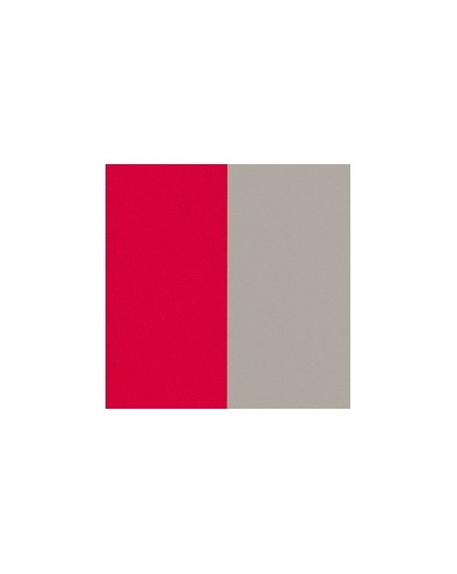 Cuir Les Georgettes 40mm Fraise/Grège vernis