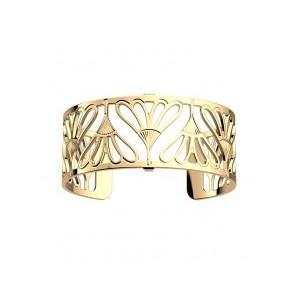Bracelet Les Georgettes Bleuet 25mm doré