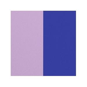 Cuir Les Georgettes 8mm Lilas/Bleu Roi