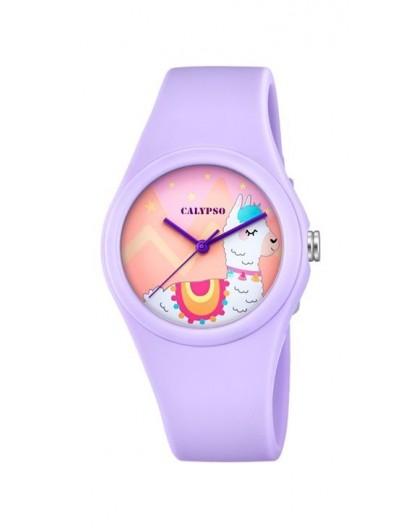 Montre Calypso K5789/2 Lama bracelet violet