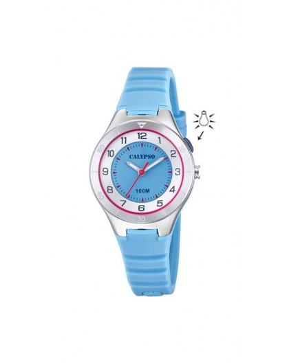 Montre Calypso K5800/1 kids bracelet bleu