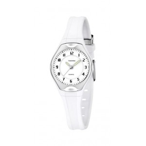 Montre Calypso K5163/H bracelet blanc