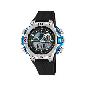 Montre Calypso K5586/2 homme bracelet noir