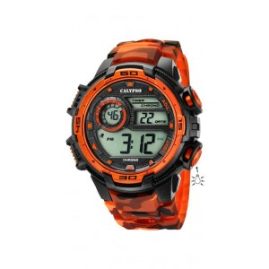 Montre Calypso K5723/5 homme bracelet orange