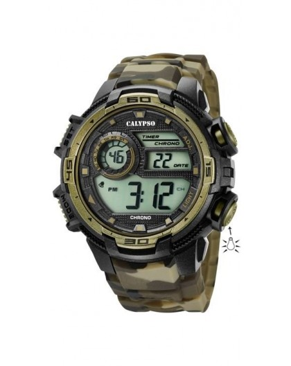 Montre Calypso K5723/6 homme bracelet khaki
