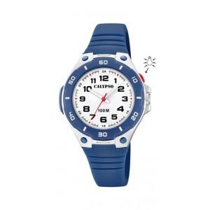 Montre Calypso K5758/2 enfant bracelet bleu