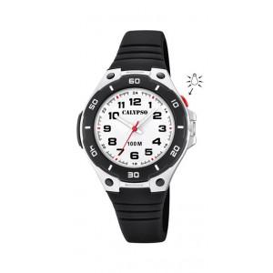 Montre Calypso K5758/6 enfant bracelet noir