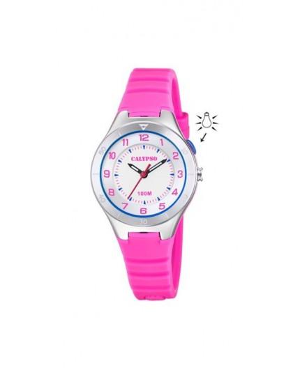 Montre Calypso K5800/2 enfant bracelet rose