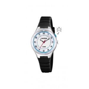 Montre Calypso K5800/4 enfant bracelet noir