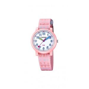 Montre Calypso K5811/1 enfant bracelet rose nylon