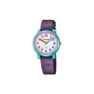 Montre Calypso K5811/3 enfant bracelet nylon bleu