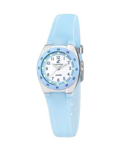 Montre Calypso K6043/D enfant bracelet bleu