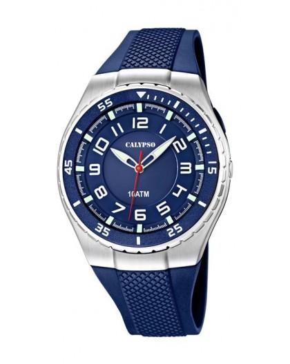 Montre Calypso K6063/2 homme bracelet bleu