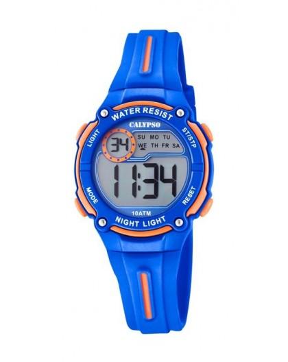 Montre Calypso K6068/3 enfant bracelet bleu