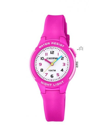 Montre Calypso K6069/1 enfant bracelet rose