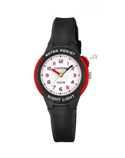 Montre Calypso K6069/6 enfant bracelet noir