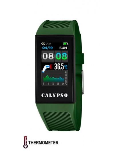 Montre Calypso connectée K8501/3 mixte