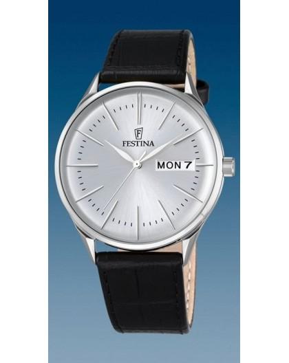 Montre Festina homme F6837-1 fond gris