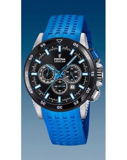Montre Festina homme F20353-7 silicone bleu
