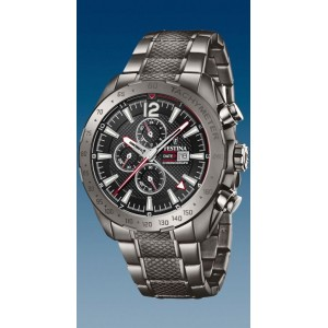 Montre Festina homme F20443-1 chrono acier gris
