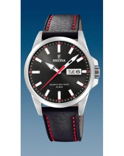 Montre Festina homme F20358-4 rouge et noir