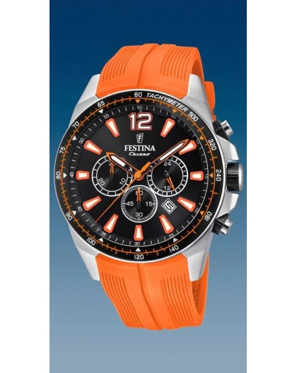 Montre Festina homme F20376-5 sport orange