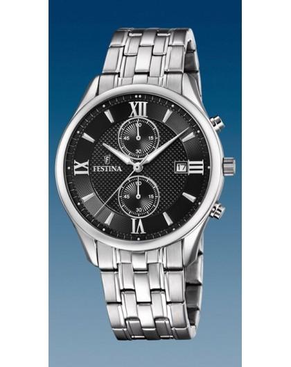 Montre Festina F6854/8 chronographe homme acier