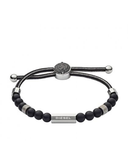 Bracelet Diesel bijoux DX1151040 acier et résine