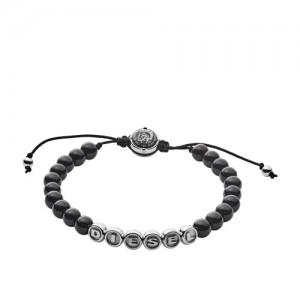 Bracelet Diesel bijoux DX1088040 acier et résine