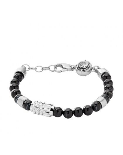 Bracelet Diesel bijoux DX0847040 acier et résine