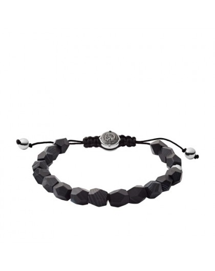 Bracelet Diesel bijoux DX1134040 agate noire