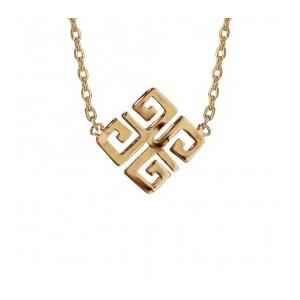 Collier plaqué Or motif arabesques