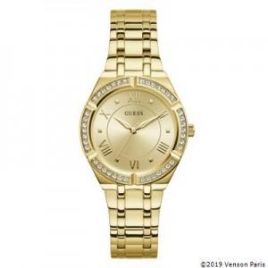 Montre Guess GW0033L2 femme dorée strass