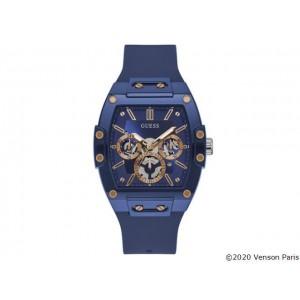 Montre Guess GW0203G7 homme bleu silicone