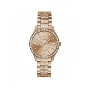 Montre Guess femme W1280L3 plaqué or rose